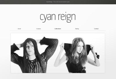 Cyan Reign website